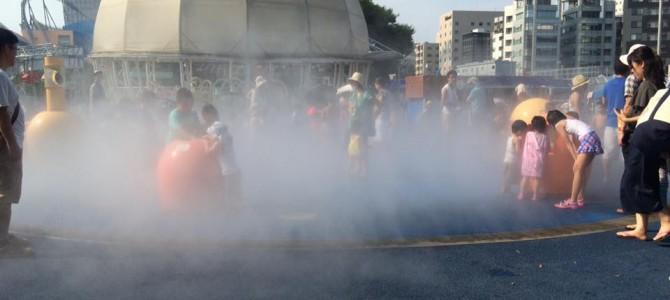 東京ドームシティに水で遊べる広場が登場!