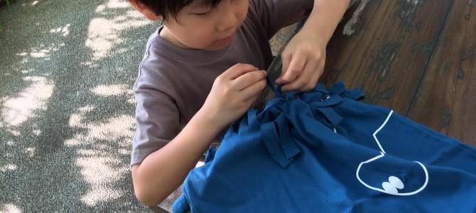 着なくなったTシャツをリメイクしてオリジナルバッグを作ろう!