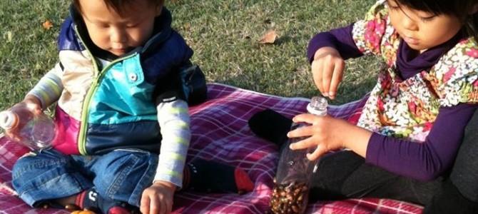 1歳から楽しめる秋の公園での親子遊びとは?