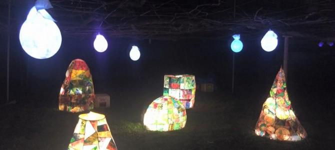 農園×光のアート=?? 新感覚のアート体験へ